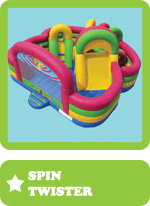 jeu gonflable Spin Twister