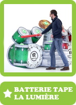 batterie tape la lumiere